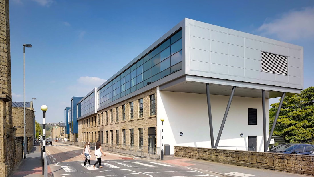 Larchfield Building at Huddersfield University