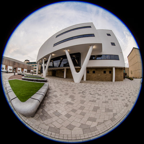 An aspect of Huddersfield University