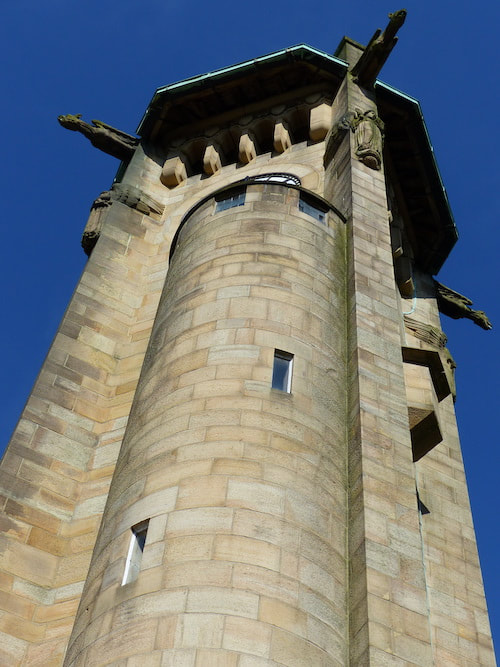Lindley Clock Tower, Huddersfield