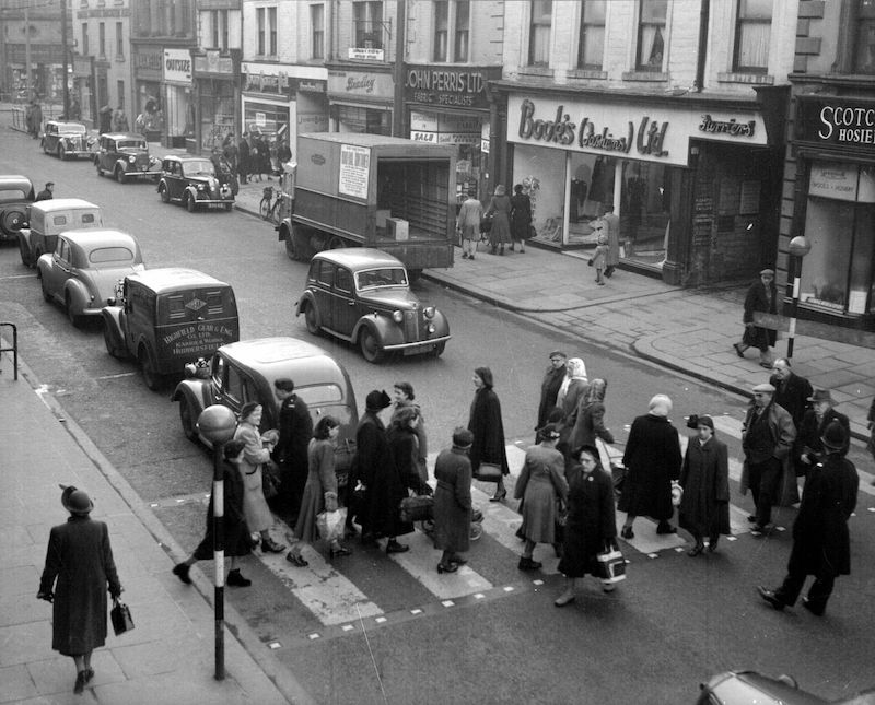 New Street, Huddersfield in 1952