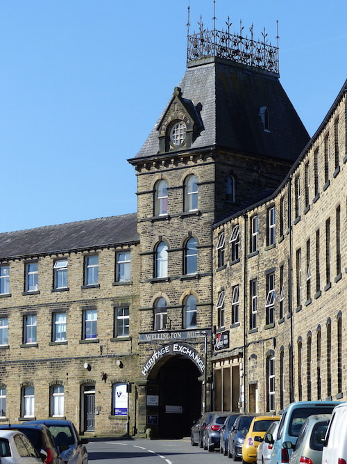 Wellington Mills, Lindley, Huddersfield